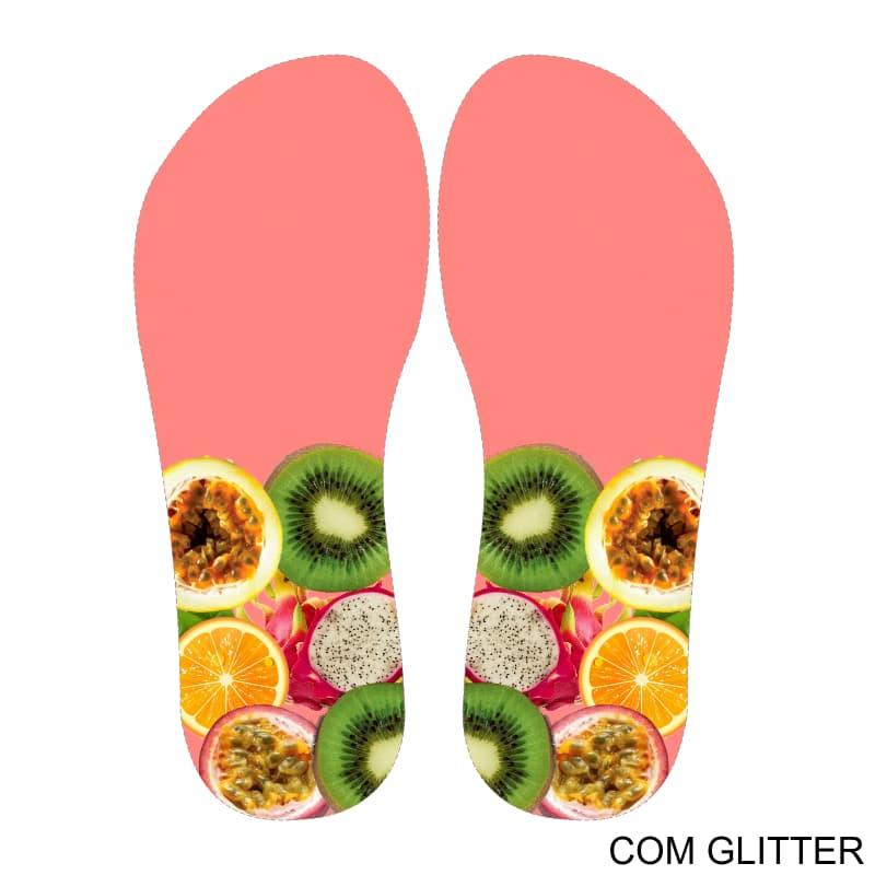 Lonita Sublimada Glitter - Frutas