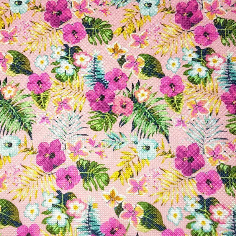 Lonita Tecido - Flores do Jardim (Rosa)