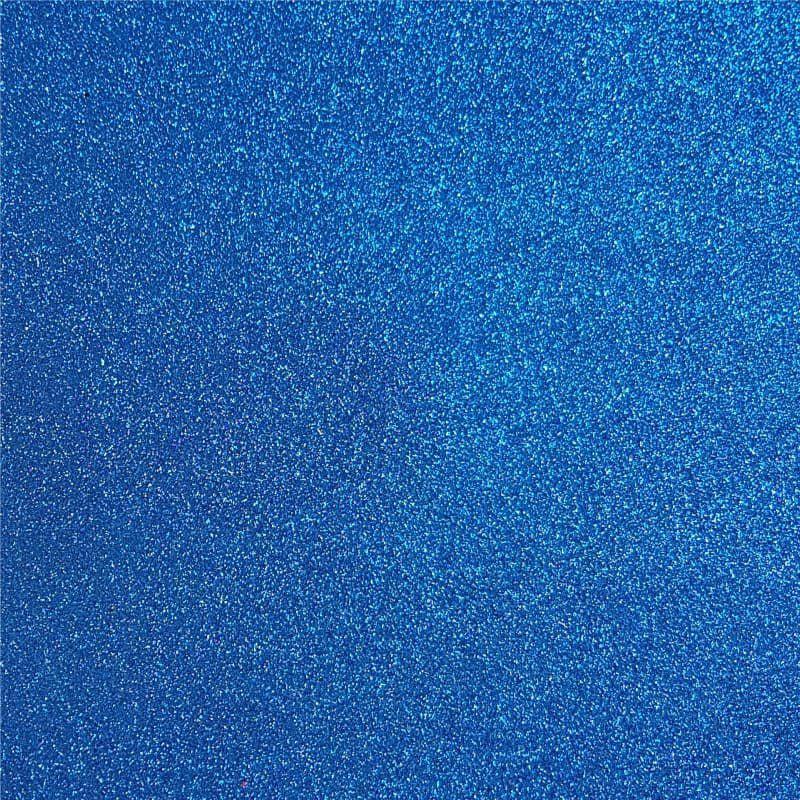 Lonita Tecido - Glitter Fino (Azul)