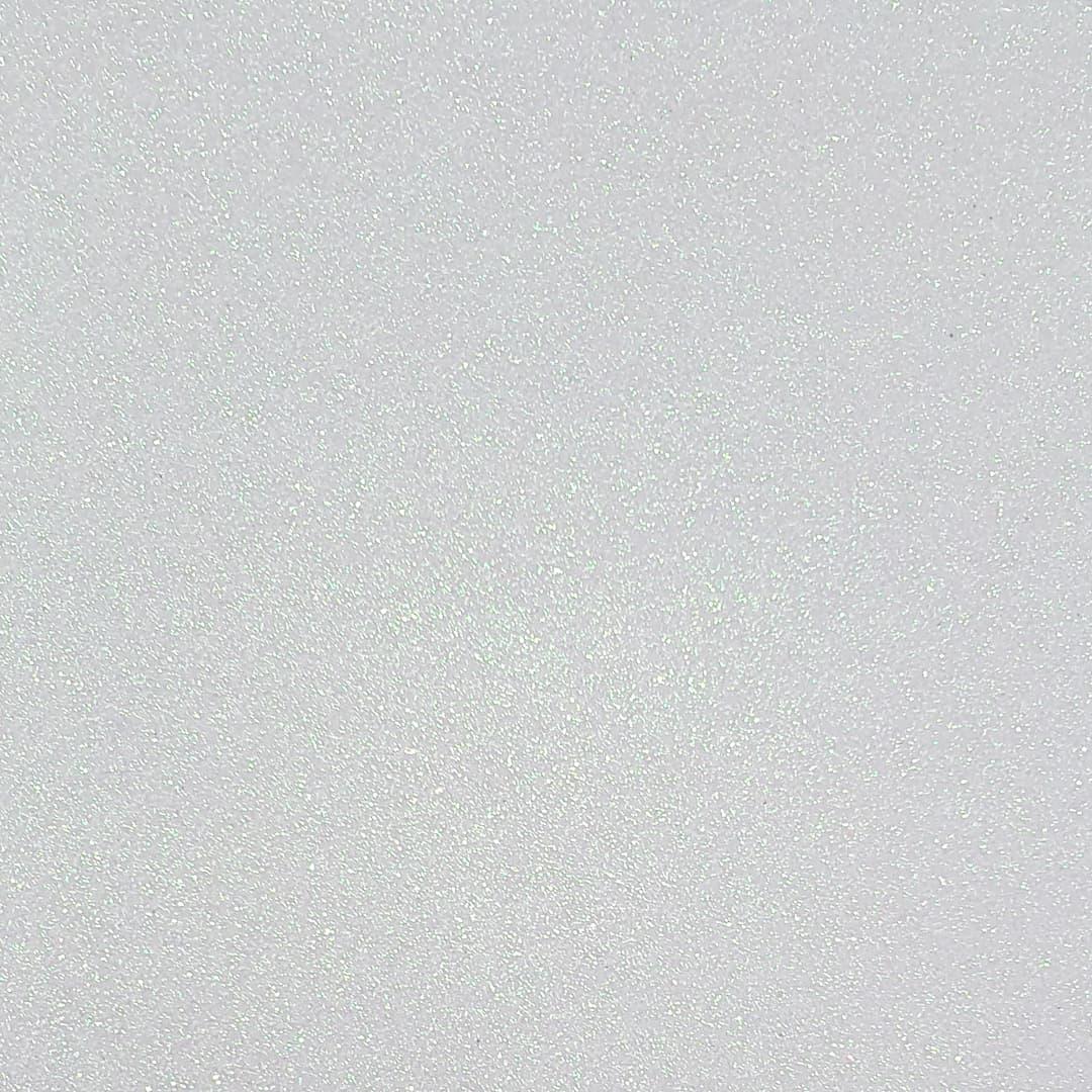 Lonita Tecido - Glitter Fino (Branco)