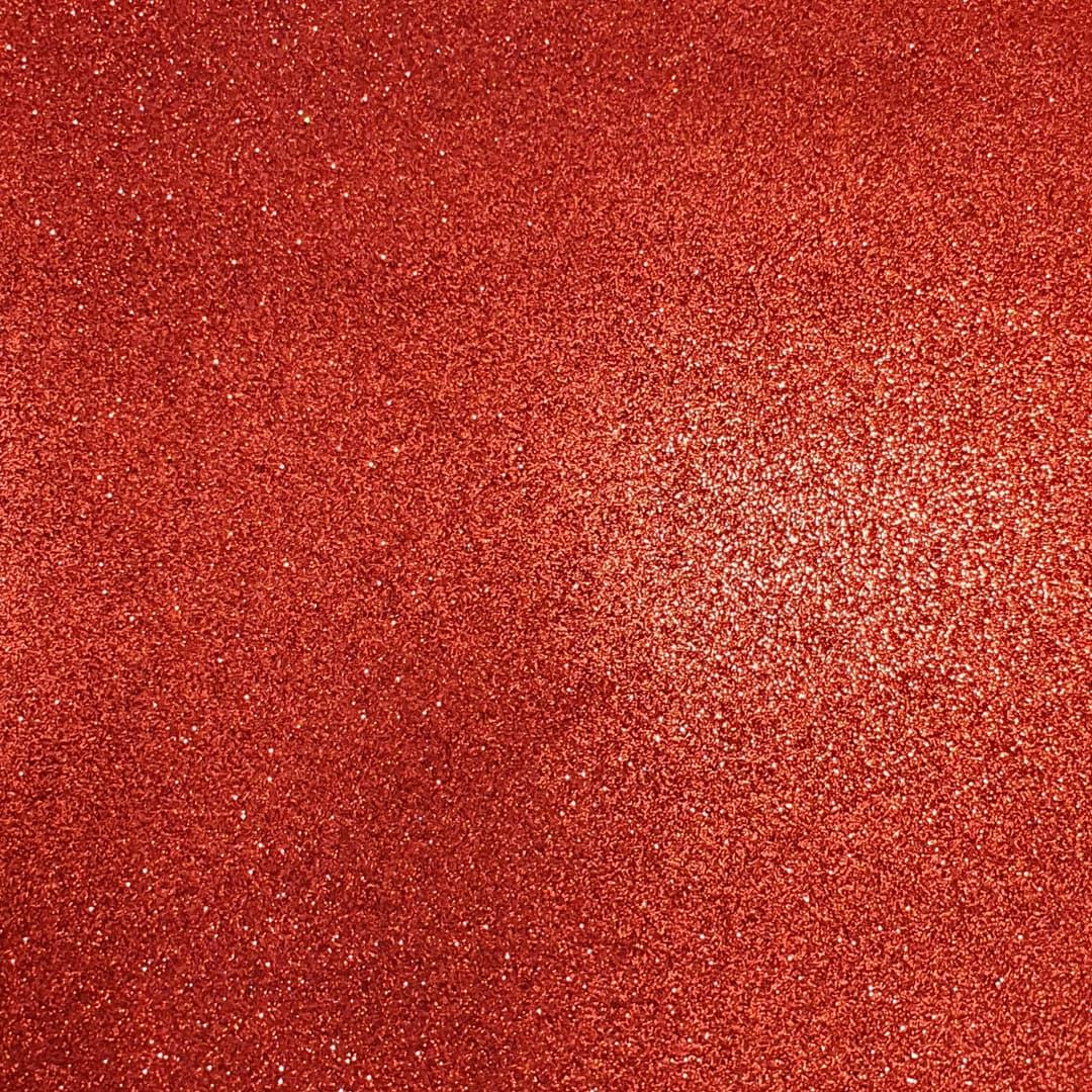 Lonita Tecido - Glitter Fino (Vermelho)