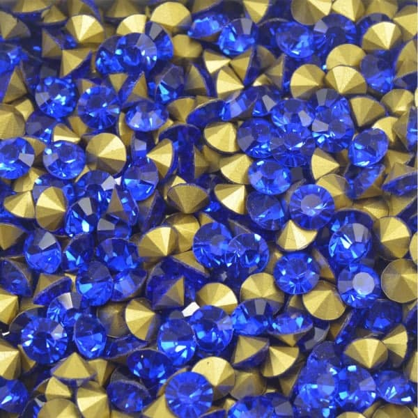 Pedra de Strass, SS28, Azul, 18g