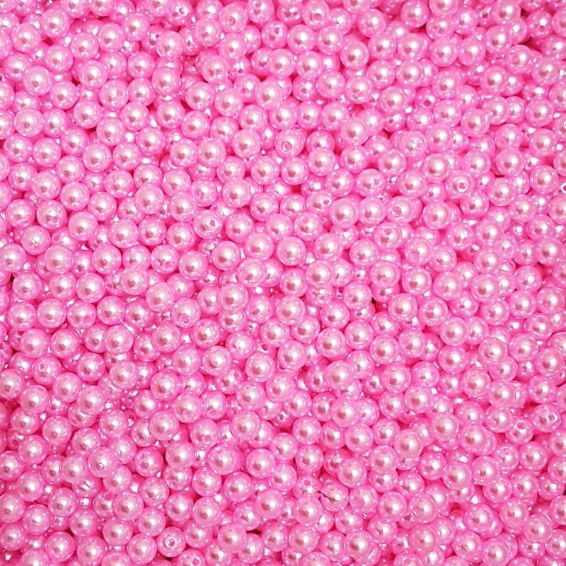Pérola Inteira ABS 8mm 100g (Rosa)