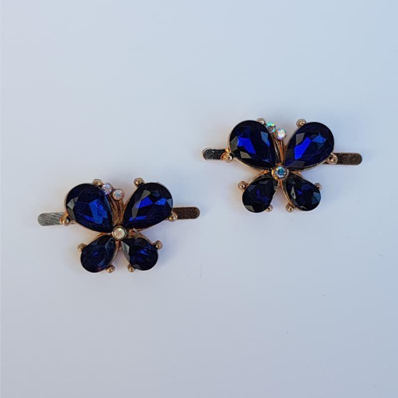 Piercing Borboletinha (Azul)