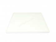 Bandeja  Quadrada em Porcelana Branca 25 por 25cm