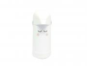 Garrafa Térmica Decorada Olhinhos Cílios Rosa| Termolar 500 ml