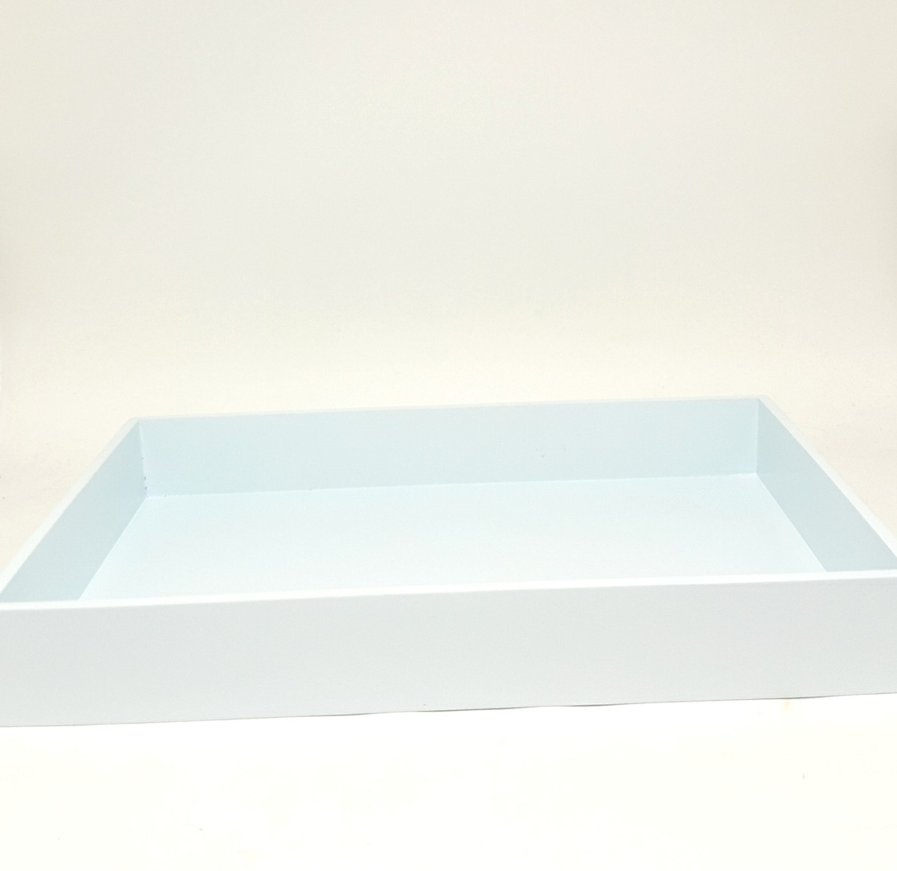 Bandeja MDF Azul Retangular de 24 por 34 cm