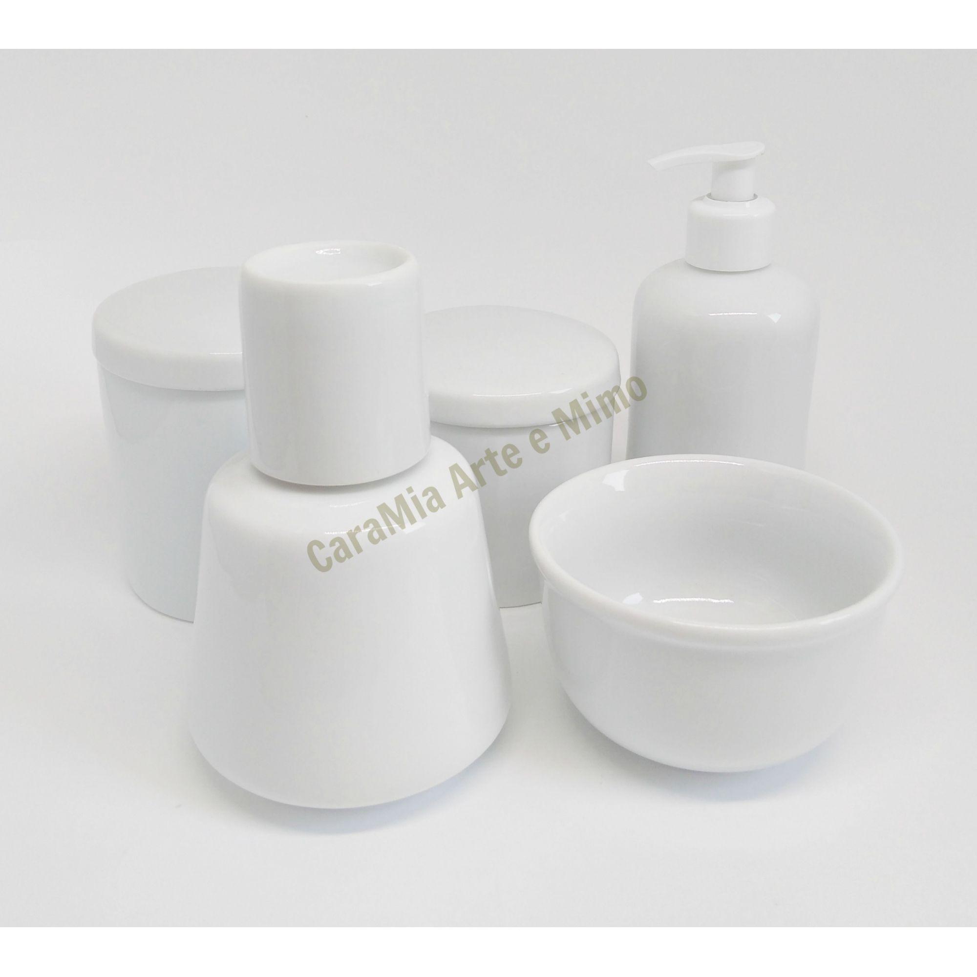 Moringa em Porcelana Branca 750 ml