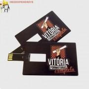 100 Un Pen Drive Cartão ( Pen Card ) 4gb, Personalizado