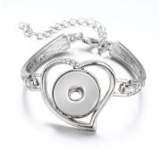 Bracelete Coração para Sublimação - 8 peças