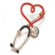 Broche Pin Personalizado Profissão Médico Importado