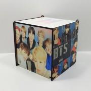 Caixa de MDF personalizada BTS