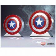 Caixa de som bluetooh Capitão America + Power Bank 2.600Ahm