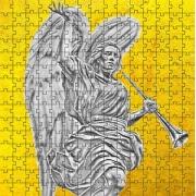 Coleção 4 Mini Quebra-cabeças Anjos de 120 peças