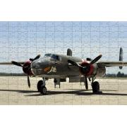 Combo 2 quebra-cabeças cognitivo para idosos 60 peças - Aviões Antigos