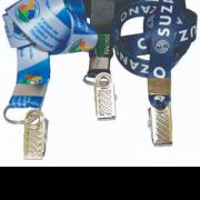 Cordão personalizado para Crachás - Mosquetão
