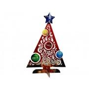 Kit 2 Arvore de Natal em MDF personalizada com palavras