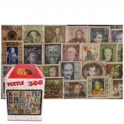 Kit 2 Quebra-cabeças de 300 peças - Filatelia Selos