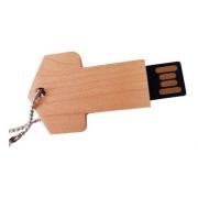 Kit 6 Pen Drives Chave de madeira importado 8gb