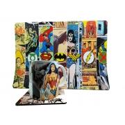 Kit Caneca Quadrinhos Heróis + Mouse pad Gamer 25 x 35 cm