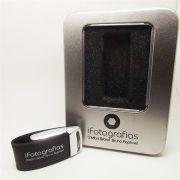 Kit Elegance Black - Pendrives para Fotógrafos  de 8, 16 e 32 Gb