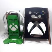 Kit Gamers Spider 3 - Suporte para controle e headset + Fone de ouvido
