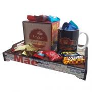 Kit para Mães - Bandeja com Caixa de Chocolates Personalizada + Pingente