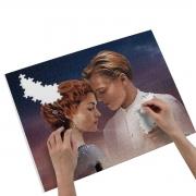 Kit Presente Caneca e Quebra-cabeças Namorados -