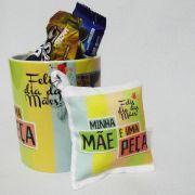 Kit Presente Personalizado Dia das Mães - Caneca + Chocolates
