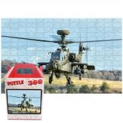 Kit Quebra-cabeça Helicopteros de Guerra 2 x 300 peças