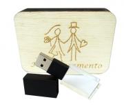 Kit Wood Black Rustico I De 8 GB