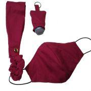 Mascara de proteção personalizada respiratória - Kit Fique em casa