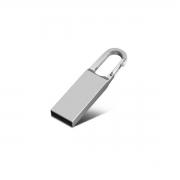Mini Pendrive Chaveiro de Metal de 64 GB USB 2.0
