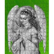 Mini Quebra-cabeça Anjos Anjo da Guarda de 120 peças