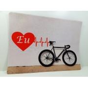 Mouse Pad Gamer Bicicletas coleção Art Bike 25 x 35 cm
