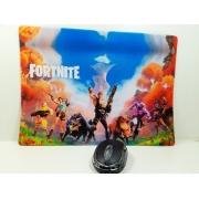 Mouse Pad Gamer Fortnite  25 x 35 cm Personalizado