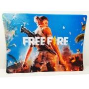 Mouse Pad Gamer FreeFire  25 x 35 cm Personalizado