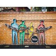 Novo Quebra-Cabeça Beatles de 1000 peças+ Presente Surpresa