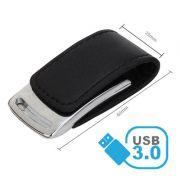 Pendrive C203 de couro 8 GB USB 3.0 - Pronta Entrega - 10 peças