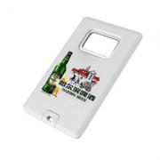 Pendrive cartão abridor de garrafa 4 GB - 10 peças - Ponta de Estoque