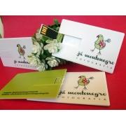 Pendrive Cartão p185 -  22 unidades - 4gb