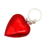 Pendrive coração vermelho de 4GB, 8GB e 16 GB