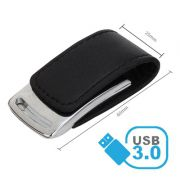 Pendrive de couro C203 USB 3.0 - Super Speed -  8 GB, 16GB e 32GB