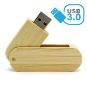 Pendrive de madeira (bambu) MM246 USB 3.0 - Super Speed -  8 GB, 16GB e 32GB