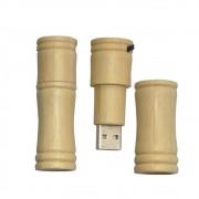 Pendrive madeira Gomo de Bambu de 4 GB Importado
