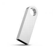Pendrive Slim Master P041 prata personalizado  - 4 GB, 8 GB