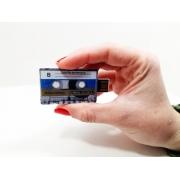 Lançamento Pendrive Fita Cassete várias capacidades - Pronta entrega