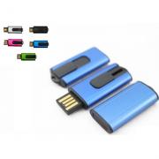 Pendrive Retratil  P033 personalizado - 4 GB, 8 GB e 16 GB