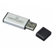 Pendrive Silver - 4 GB e 8 GB e 16 GB - parceria Cameraclub