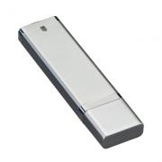Pendrives Básicos - Modelo P128 Prata - 4 GB, 8 GB e 16 GB